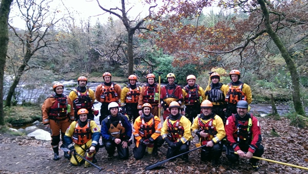Swift Water Training