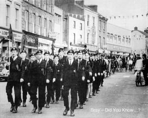St Patricks Day Parade Bray 1971