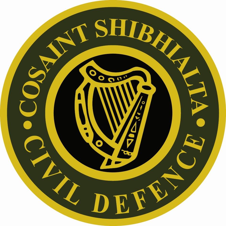 Official Civil Defence Harp Logo
