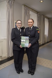 Dublin Civil Defence Volunteers at Publication of White Paper at Dublin Castle