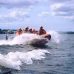 Training on Lough Derg