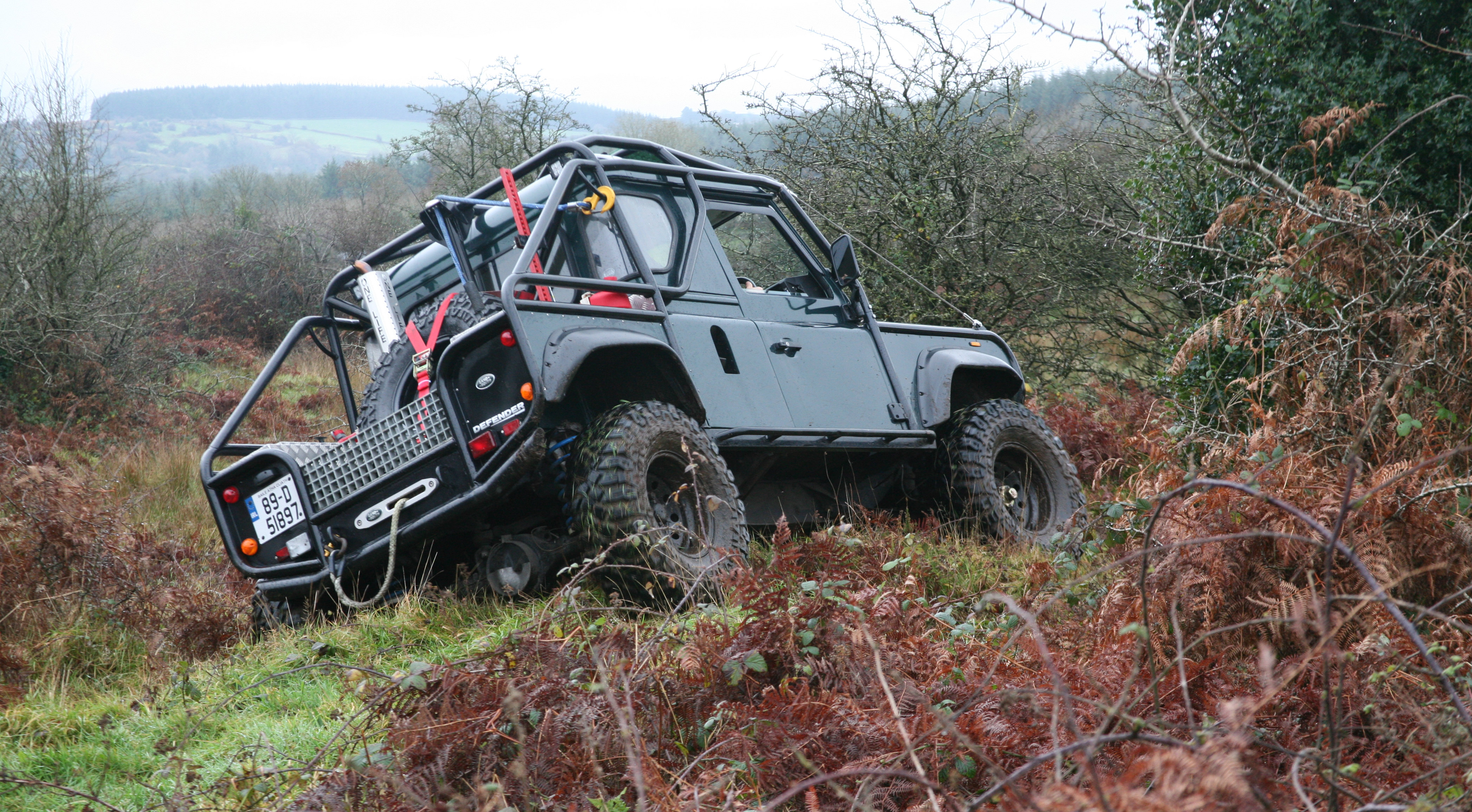 Off -Road Driver Training   Civil Defence